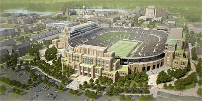 University of Notre Dame Campus Crossroads Stadium  Project